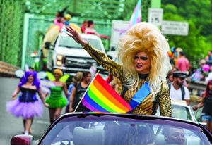New Hope Celebrates Events - Pride Parade Big Hair!